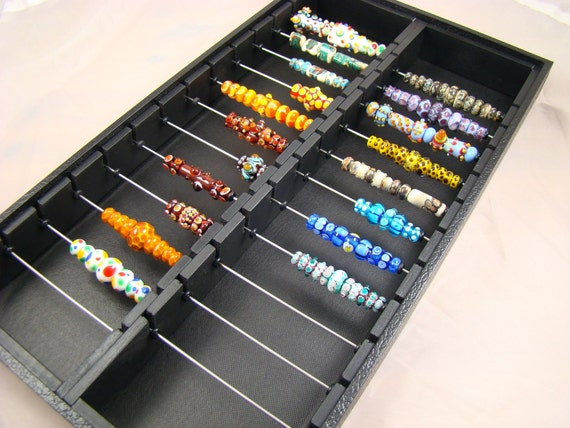 RESERVED FOR DICK  -  Display trays for lampwork beads