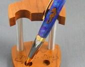 Handturned Seahorse Elegant Twist Pen