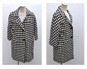 vintage winter coat mod 1970s wool coat womens vintage clothing