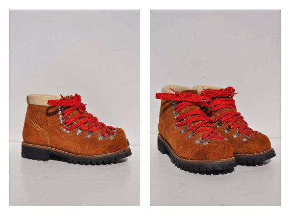 hiking boots mountaineering boots womens boots vintage hiking
