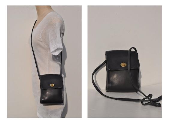 vintage COACH leather purse  bag authentic CROSS BODY
