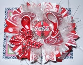 Coca Cola Hairbow