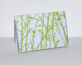 Card Case / Mini Wallet - Leaves of Grass