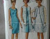 Vintage 1966 Simplicity Dress\/coat pattern