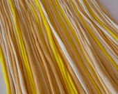 T shirt Yarn Strips-  -Mixed Yellows- Rt499