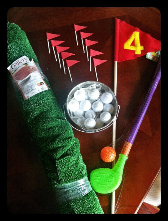Golf Birthday Party Decor and Supplies by greatdaygraphics on Etsy
