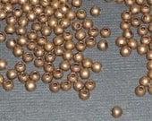 Antique Bronze Metal Bead 100 beads