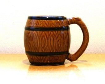 Barrel Mug - Vintage // FREE SHIPPING