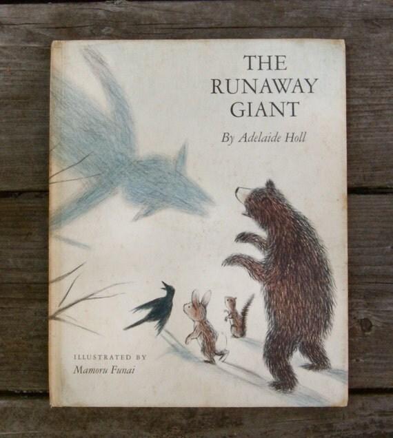 The Runaway Giant-Vintage Children's Book