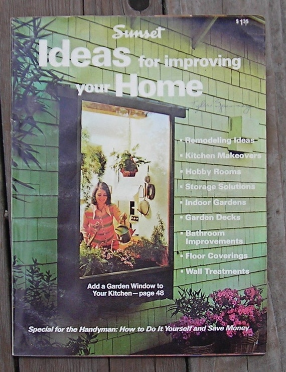 Sunset Ideas For Improving Your Home-Vintage Magazine