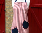 Burger - adult full ADJUSTABLE apron