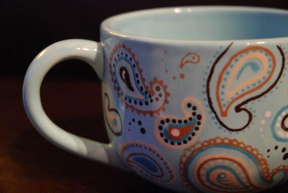 Jumbo Paisley Mug Create Your Own Set