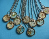 """Reserved for Romina- The """"HOME is where the HEART is"""" necklace.... Keep a little piece of Wash, D.C. & area close at heart"""