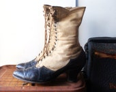 Antique High Lace Boots - Early 1900s