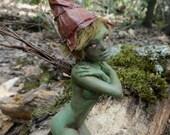 Custom - OOAK Art Doll Sculpture Fairy Miniature