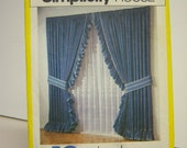 Vintage 118 Simplicity Curtain Pattern