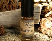Rita's Hustle n Flow Hand Brewed Ritual Oil - Get Your Business Boomin' - Hoodoo, Witchcraft, Pagan