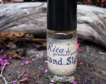 Rita's Second Sight Hand Brewed Oil - Enhance Instincts, Intuition and Sixth Sense
