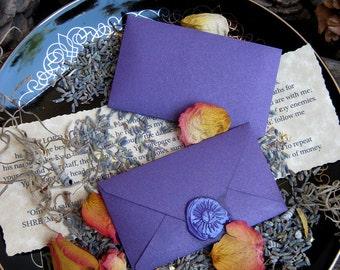 Rita's Hoodoo Spellvelopes - Violet Flame - Pagan, Witchcfraft, Hoodoo, Juju