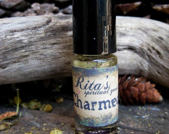 Rita's Charmed Ritual Perfume Oil - Attract People, Find Delight and Joy, Mark Yourself with Good Fortune