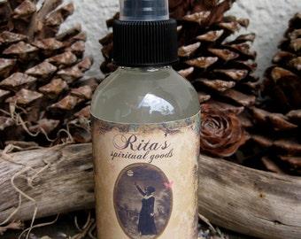 Rita's White Light Spiritual Mist Spray - Pagan, Magic, Hoodoo, Witchcraft, Juju