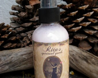Rita's Charmed Spiritual Mist Spray - Attract People, Find Delight and Joy, Mark Yourself with Good Fortune - Pagan, Witchcraft, Hoodoo