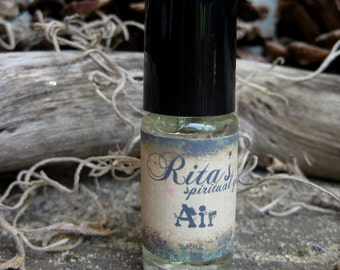 Rita's Air Element Ritual Oil - Get Your Energy Moving, Communication, Creativity - Pagan, Magic, Hoodoo, Witchcraft