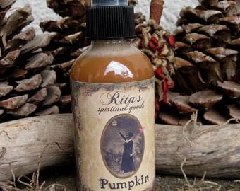Rita's Pumpkin Spiritual Mist Spray - Contact Spirits, Fertility, Abundance, Good Luck