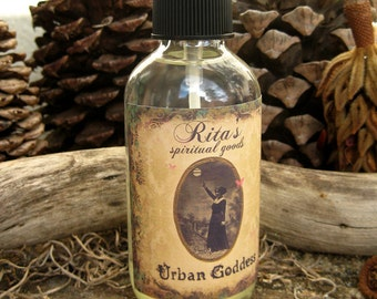 Rita's Urban Goddess Spiritual Mist Spray - Draw Out Your Inner Goddess - Hoodoo, Pagan, Witchcraft