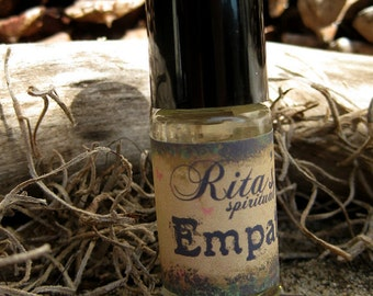 Rita's Empath Handbrewed Ritual Oil - Ease Your Psychic Empathy, Polish Up Your Innate Gift