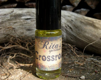 Rita's Hand Brewed Crossroads Ritual Oil - UNISEX - Make the Right Decisions Faster, Choose Your Path