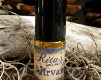 Rita's Nirvana Ritual Hand Brewed Oil - UNISEX - Be Free from Suffering, Pain and Worry from this World