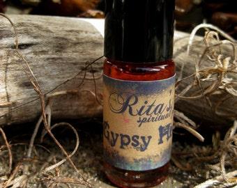 Rita's Gypsy Heart Hand Brewed Ritual Oil - Pagan, Magic, Hoodoo, Witchcraft, Juju