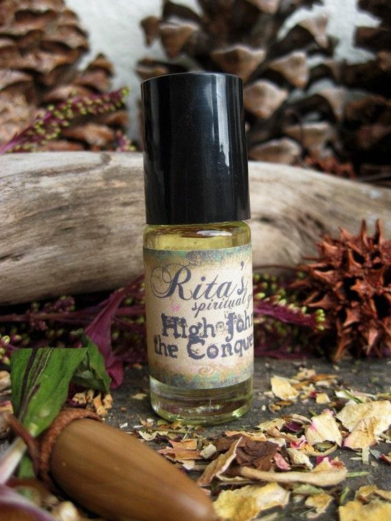 High John the Conqueror Ritual Perfume Oil