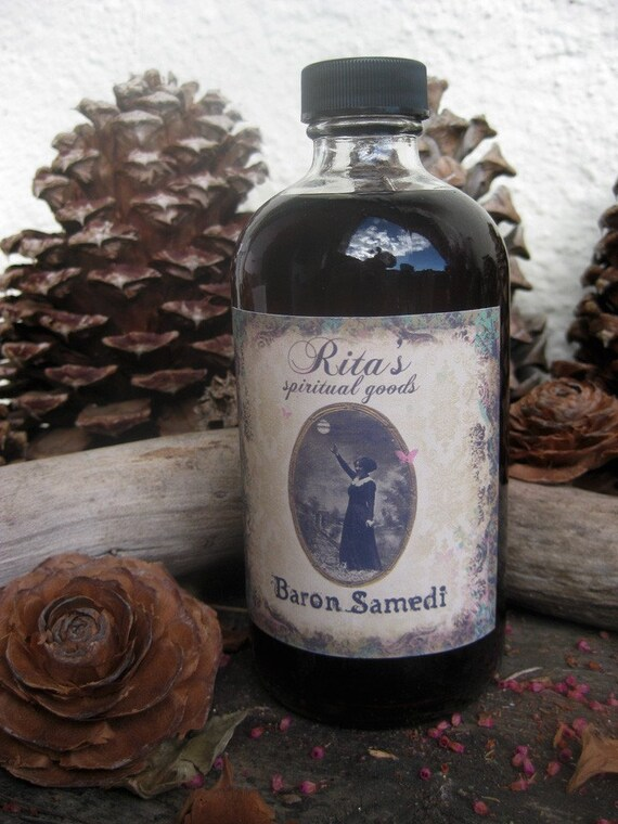 Rita's Baron Samedi Hoodoo Root Wash - All Powerful Curse Removal, Black Magic Blocker and Life Healer