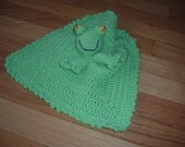 Froggy Security Blanket, adorable