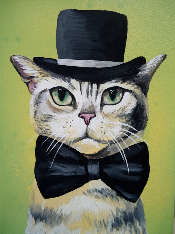 how to make a cat in the hat bow tie