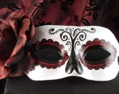 Tradition Mask for Day of the Dead/Dia de los Muertos/Halloween/Costume/Masquerade Mask