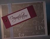 Congratulations - Wedding