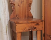 chair, entry chair, decorative chair