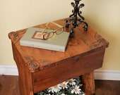 side table, remote control table