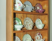 Nine cup, tea cup shelf