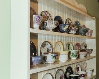 tea cup shelf, collectors edition