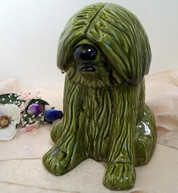 Doranne Of California Sheep Dog Cookie Jar