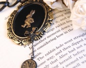 Late - Alice in Wonderland Necklace