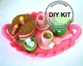 Diy felt toolbox kit packagek t09 for Patakha bano food mat