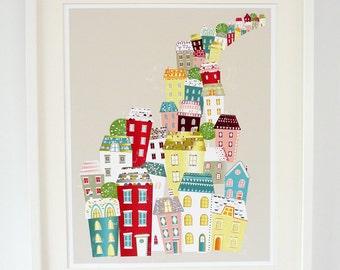 City Living - A2 large print