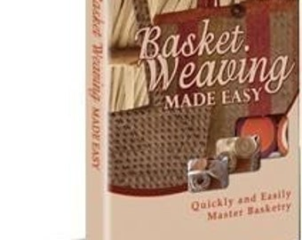 Learn Basket Weaving plus 30 Patterns Instant Digital Delivery eBook pdf
