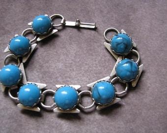 Vintage Faux Turquiose Bracelet