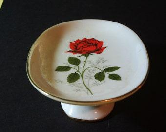 Vintage Pedestal Dish